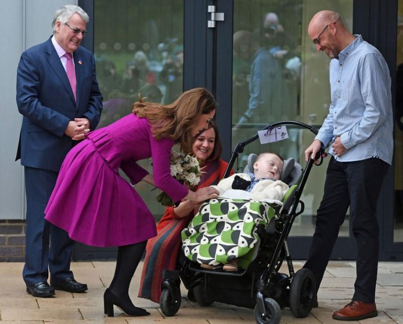 Η Κέιτ Μίντλετον μίλησε με τους γονείς του μικρού Στάνλεϊ
