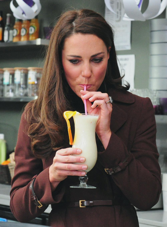 Η δούκισσα του Κέμπριτζ πίνει κάθε πρωί ένα smoothie με πράσινα λαχανικά