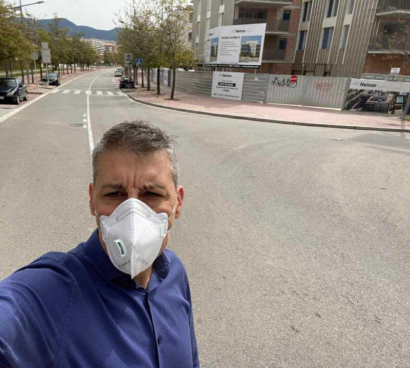 Ελληνας κάτοικος της Βαρκελώνης, Αλέξανδρος Βουρβούλιας