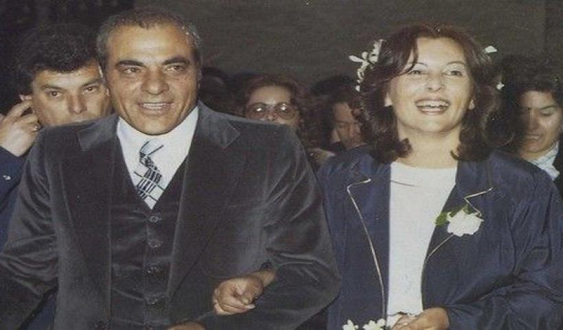 Ο γάμος του Στέλιου Καζαντζίδη με την τελευταία του σύζυγο του, Βάσω.