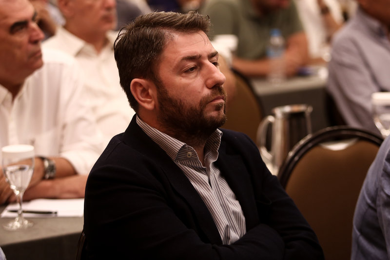 Ο Νίκος Ανδρουλάκης στην ΚΕ του ΚΙΝΑΛ