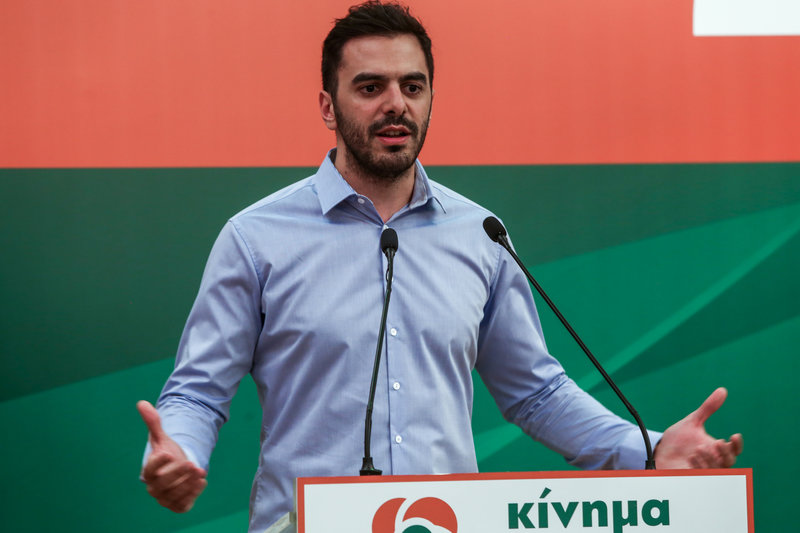 Ο Γραμματέας του ΚΙΝΑΛ, Μανώλης Χριστοδουλάκης-