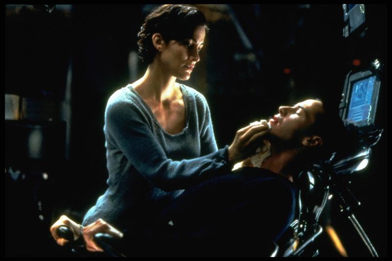 Σκηνή από την ταινία «Matrix»
