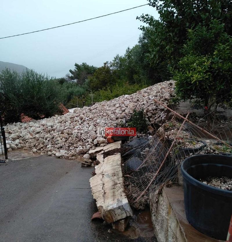 Μεγάλες καταστροφές και στο Νυφί