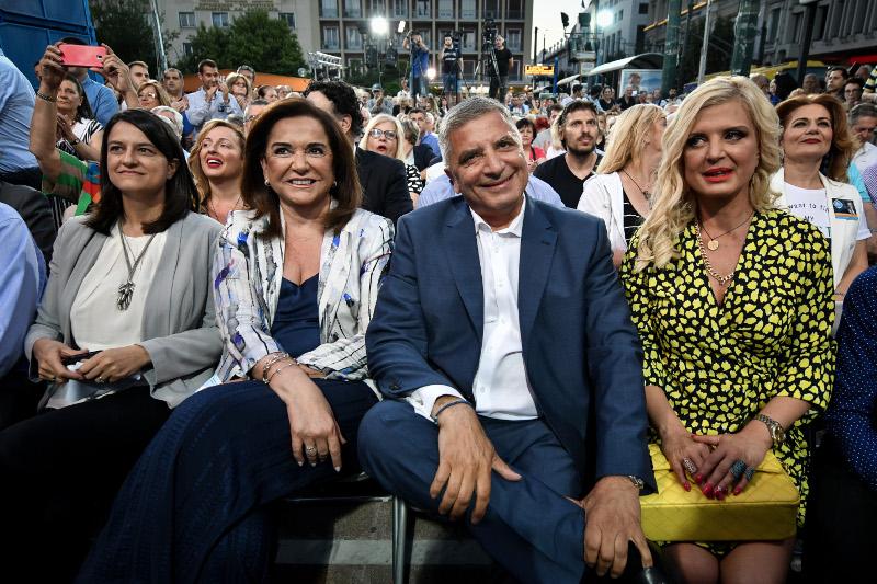 Νίκη Κεραμέως, Ντόρα Μπακογιάννης, Μαρίνα και Γιώργος Πατούλη