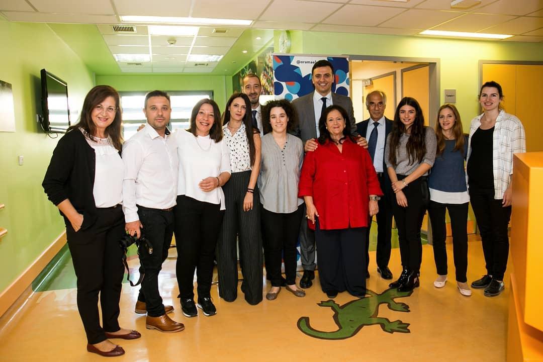 Ο Βασίλης Κικίλιας ενημερώθηκε από γιατρούς και νοσηλευτές