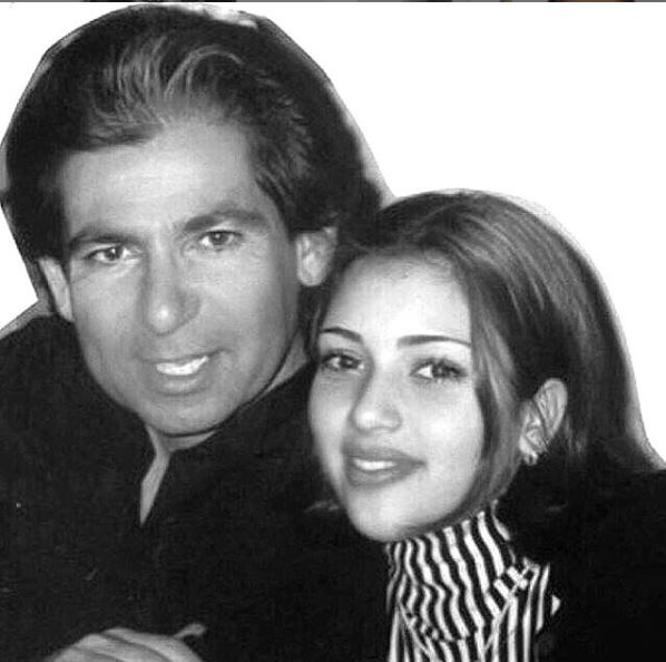 Η Κιμ Καρντάσιαν με τον πατέρα της, Ρόμπερτ