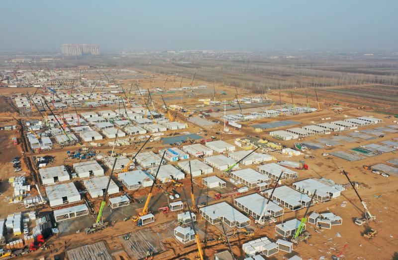 Ενα τεράστιο κέντρο καραντίνας κατασκευάζεται κοντά στο Πεκίνο