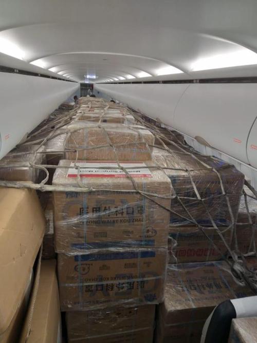 Μεγάλη ποσότητα υγειονομικού υλικού από την Κίνα στη μάχη κατά του κορωνοϊού