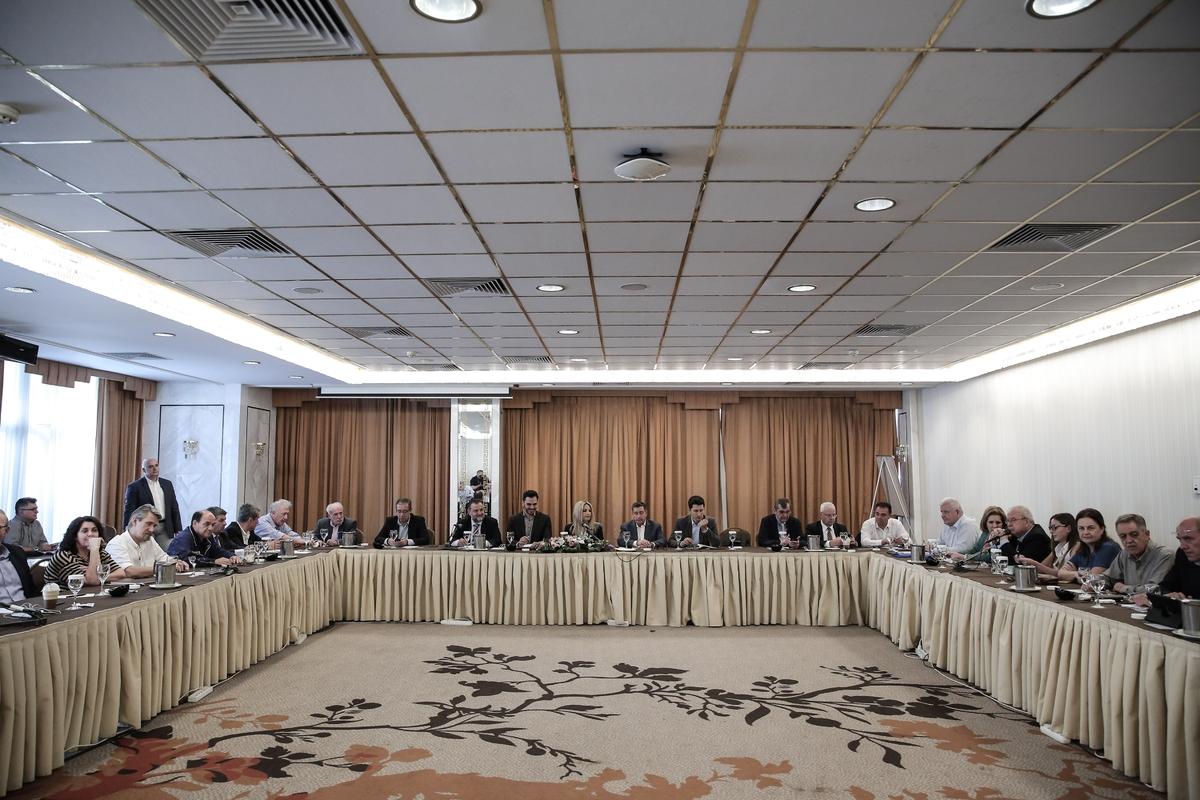 Κοινή συνεδρίαση ΚΟ και ΠΓ του ΚΙΝΑΛ στ Κάραβελ -
