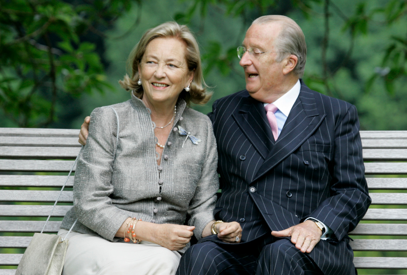Ο βασιλιάς Αλβέρτος του Βελγίου με την σύζυγό του Πάολα