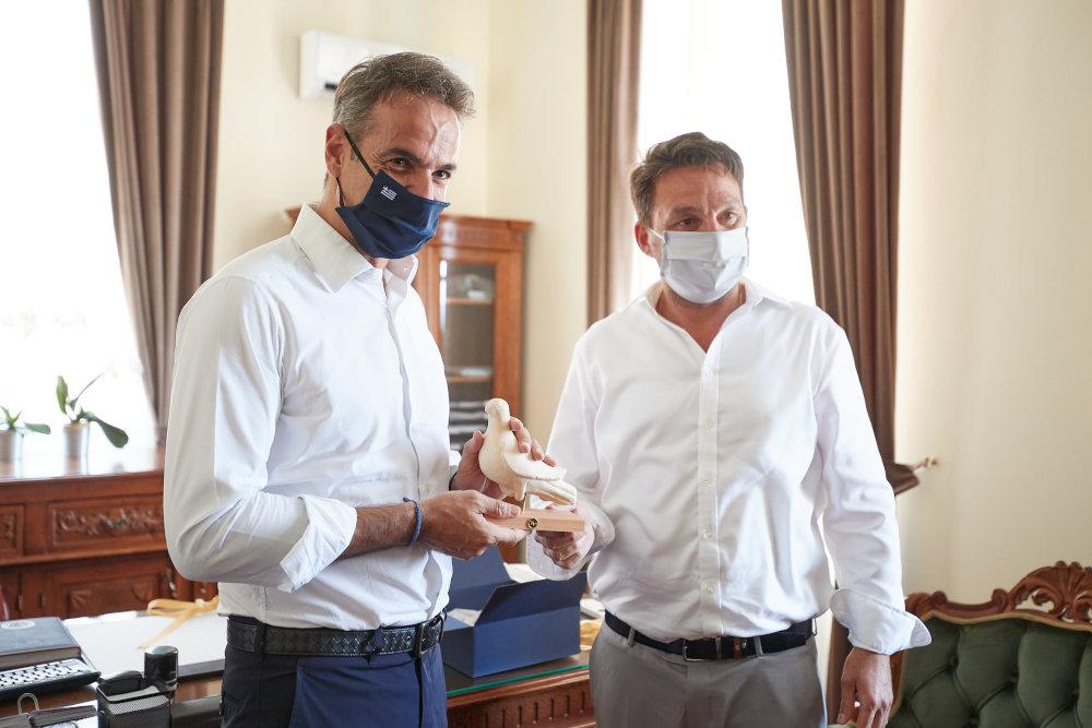 Επίσκεψη του Πρωθυπουργού Κυριάκου Μητσοτάκη στη Χάλκη