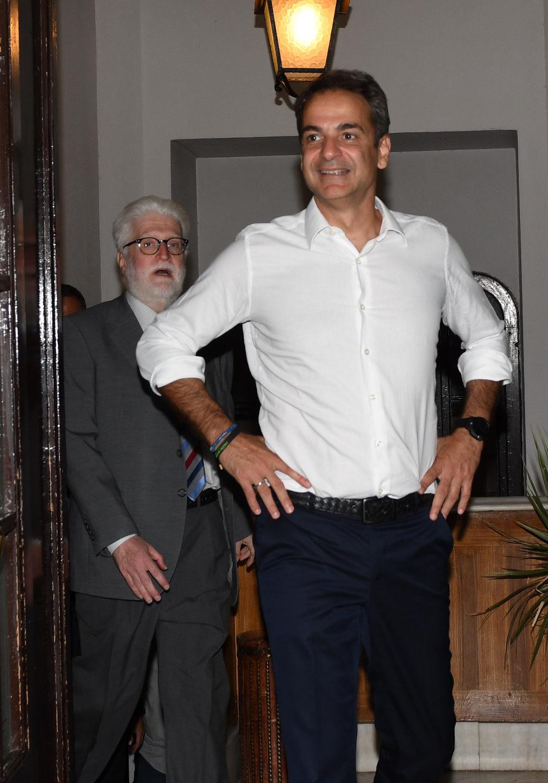 Ο πρωθυπουργός Κυριάκος Μητσοτάκης στα Ιωάννινα συνάντησε τον νέο Δήμαρχο της πόλης Μωυσή Ελισάφ