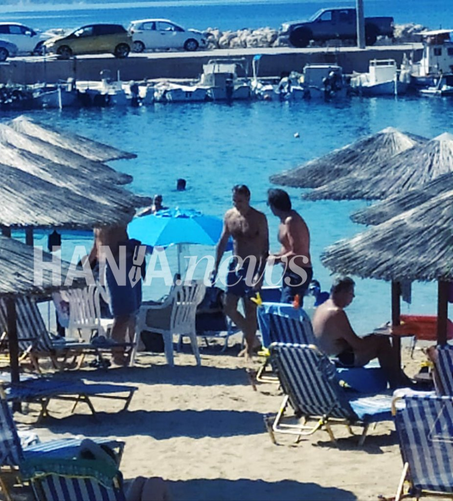 Στην παραλία Μαράθι Ακρωτηρίου την 1η Αυγούστου ο Κυριάκος Μητσοτάκης