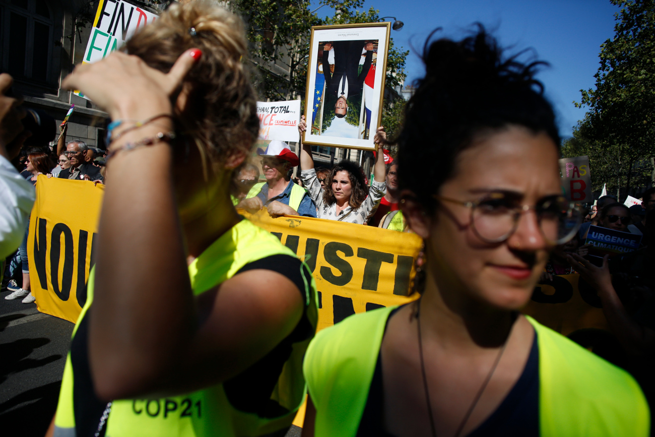 Νέες διαδηλώσεις στη Γαλλία από τα Κίτρινα Γιλέκα / Φωτογραφία: AP