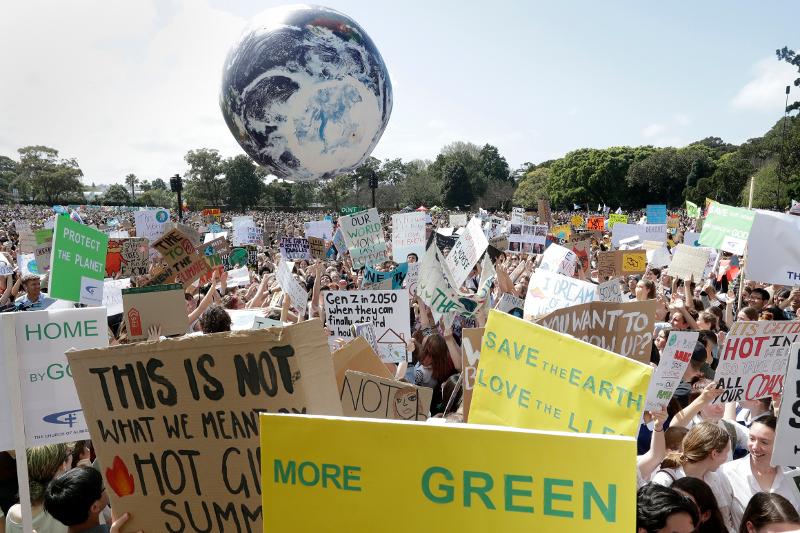 Πλακάτ για την προστασία του περιβάλλοντος στην Αυστραλία
