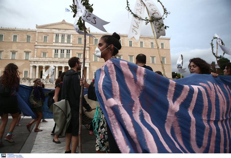 Μεγάλη πορεία στην Αθήνα για το κλίμα / Φωτογραφία: Intimenews/ΤΖΑΜΑΡΟΣ ΠΑΝΑΓΙΩΤΗΣ