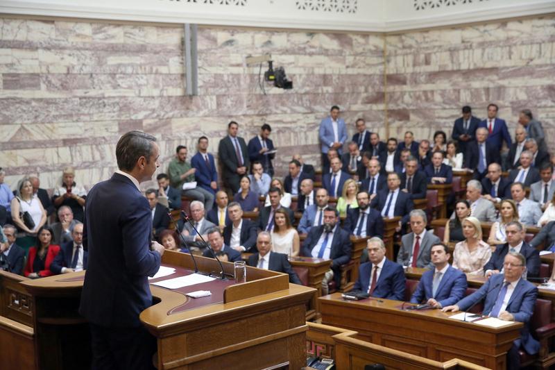 Ομιλία Μητσοτάκης στην ΚΟ της ΝΔ