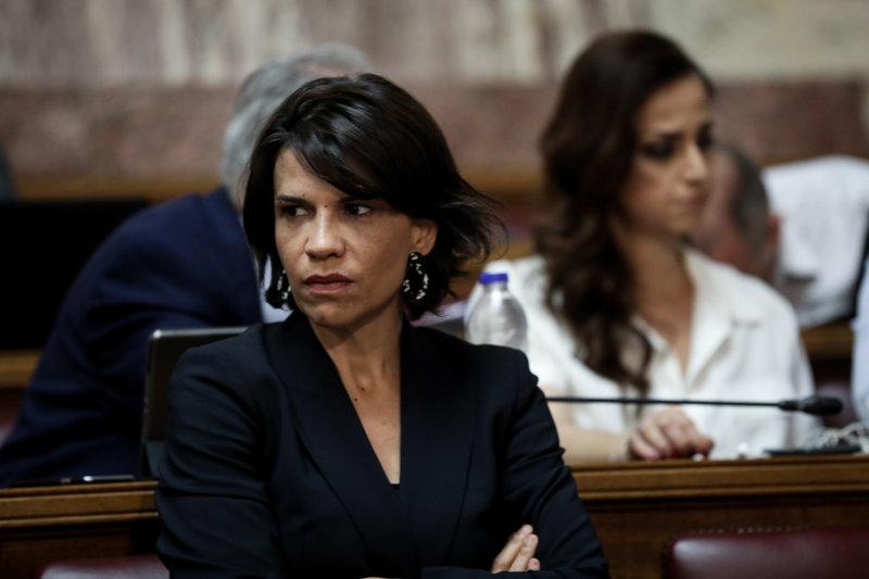 Η βουλευτής Σουλτάνα Ελευθεριάδου