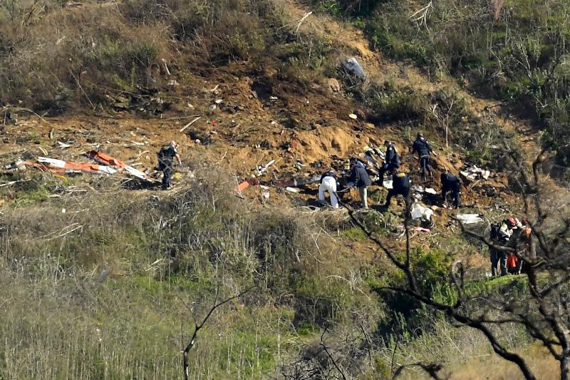 Το ελικόπτερο στο οποίο επέβαινε ο Κόμπι Μπράιαντ και η 13χρονη κόρη του, συνετρίβη σε μία απότομη πλαγιά στην περιοχή Καλαμπάσας της Καλιφόρνια