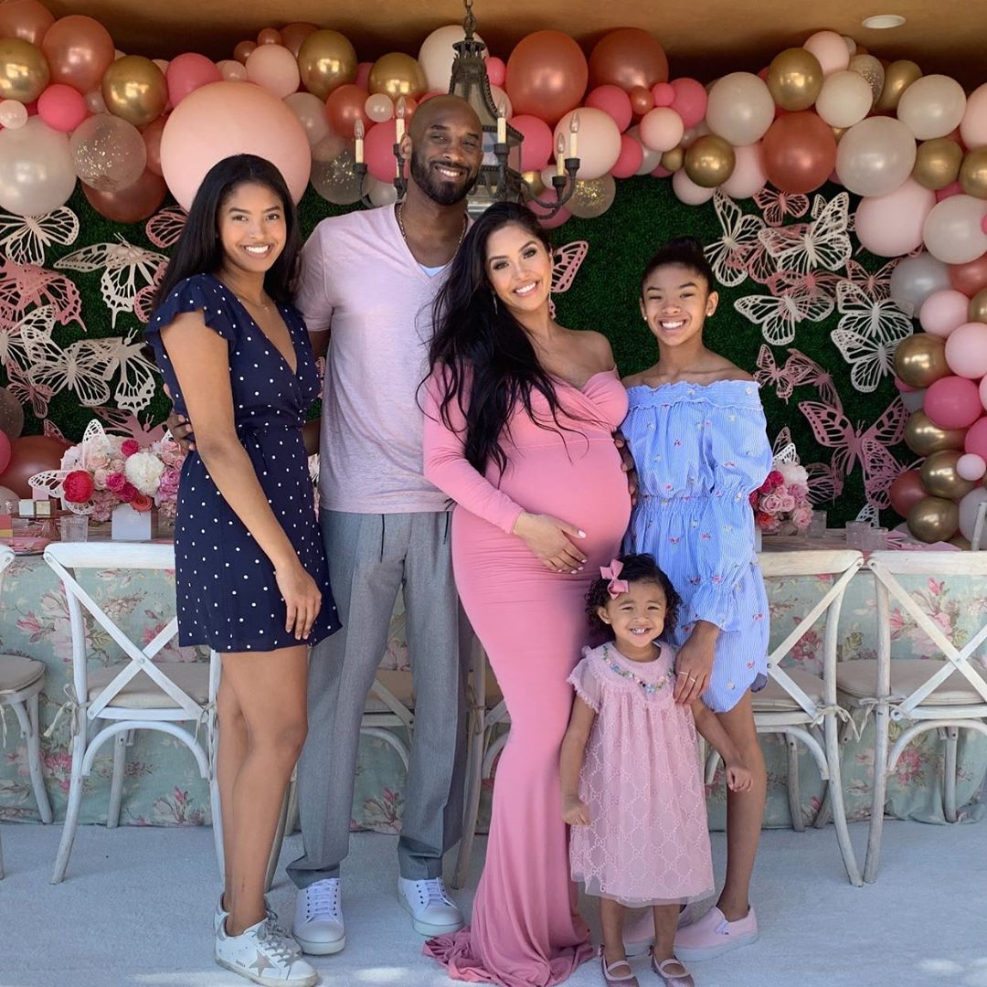 Ο Κόμπι Μπράιαντ με την σύζυγό του Βανέσα είναι μαζί εδώ και 20 χρόνια και έχουν αποκτήσει 4 κόρες/Φωτογραφία: Instagram/Kobebryant