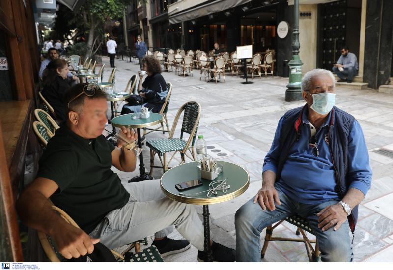 Στα καφέ με αποστάσεις και μέτρα προστασίας
