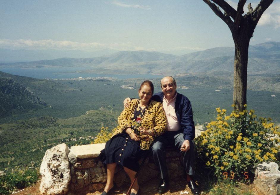 Ο Κωνσταντίνος και η Μαρίκα Μητσοτάκη στην Κρήτη