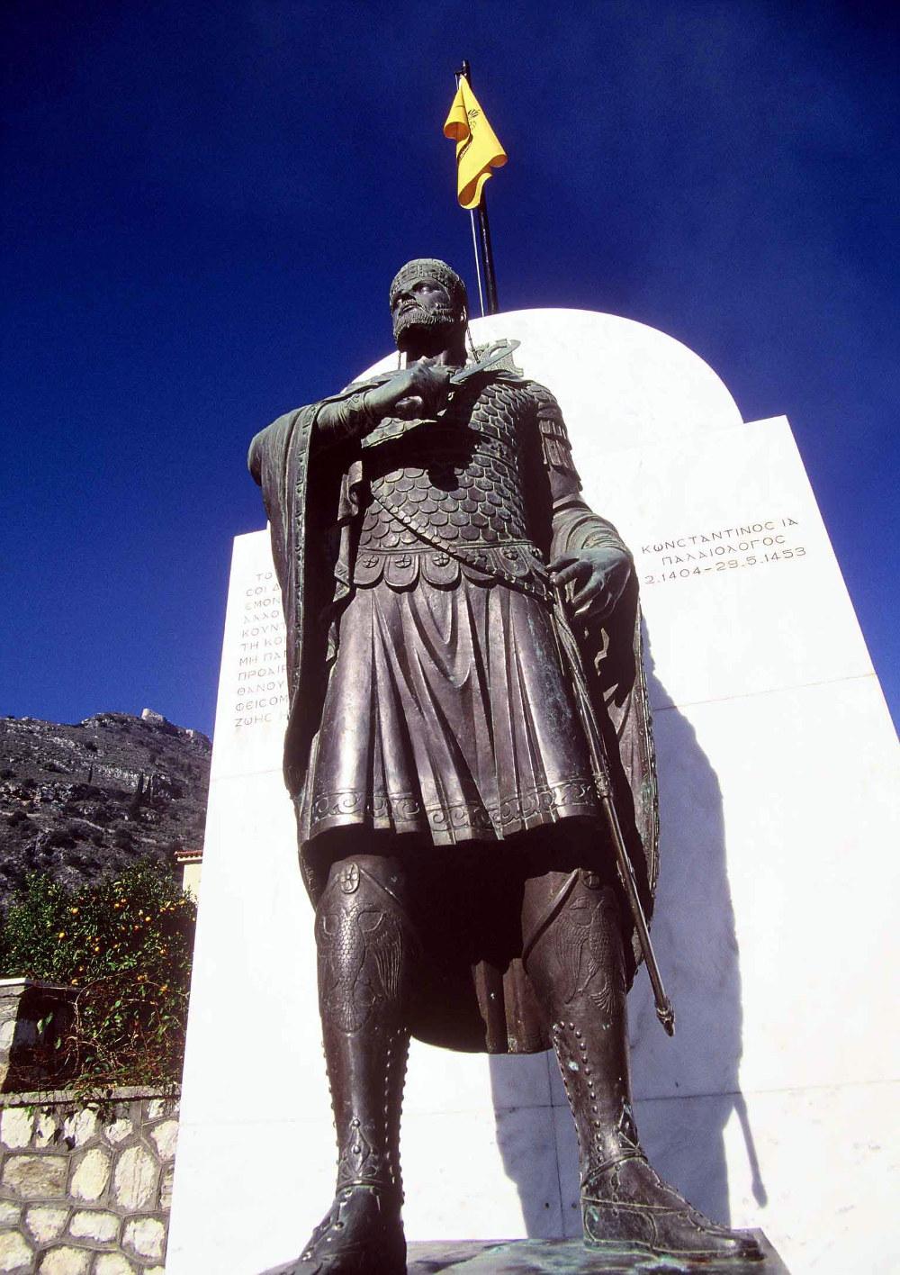 Χάλκινο άγαλμα του Κωνσταντίνου Παλαιολόγου