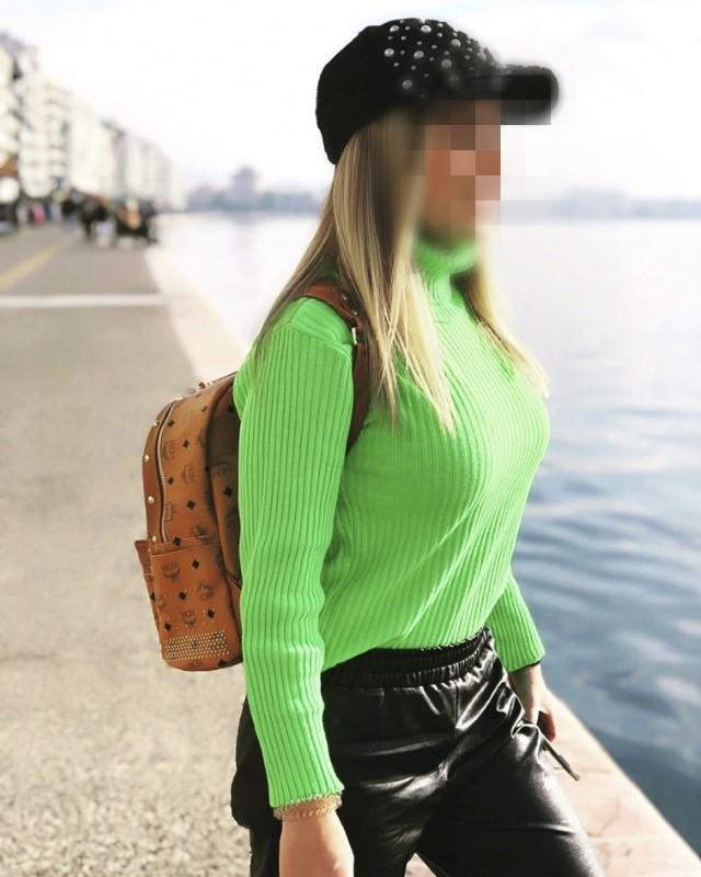 πρασινη μπλουζα