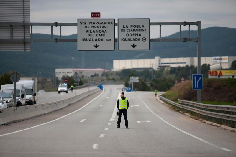 Σε καραντίνα μπήκαν 4 πόλεις της Καταλονίας λόγω των πολλών κρουσμάτων κορωνοϊού
