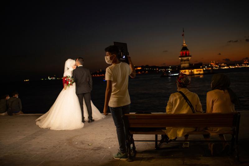 Ζευγάρι παντρεύεται στην Τουρκία