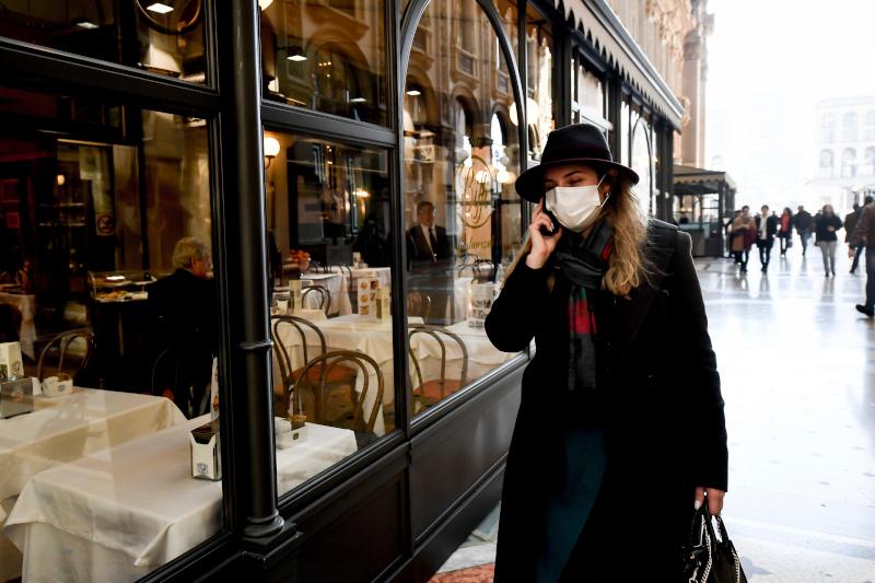 Ακόμη και τα εστιατόρια είναι άδεια στο Μιλάνο από τον φόβο του κορωνοϊού