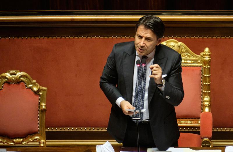 Ο Ιταλός πρωθυπουργός Τζιουζέπε Κόντε