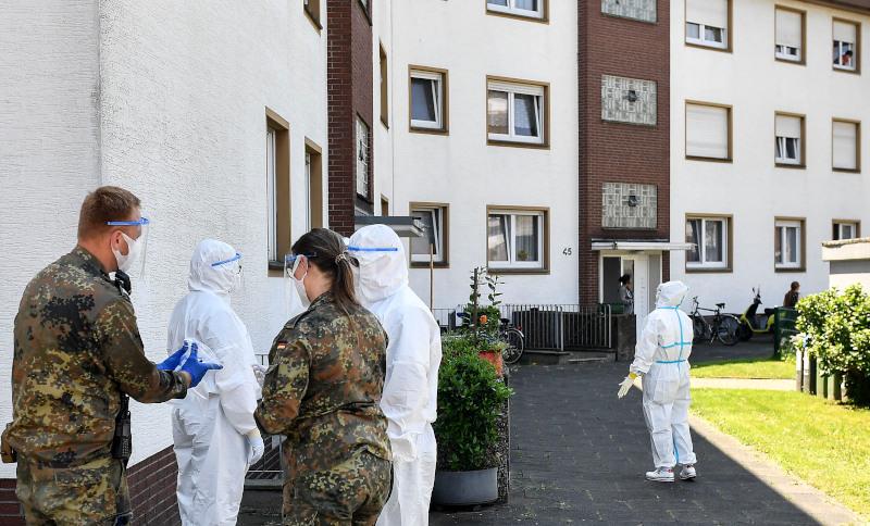Σε τοπικό lockdown η πόλη Γκέτερσλοχ της βόρειας Ρηνανίας Βεστφαλίας στη Γερμανία