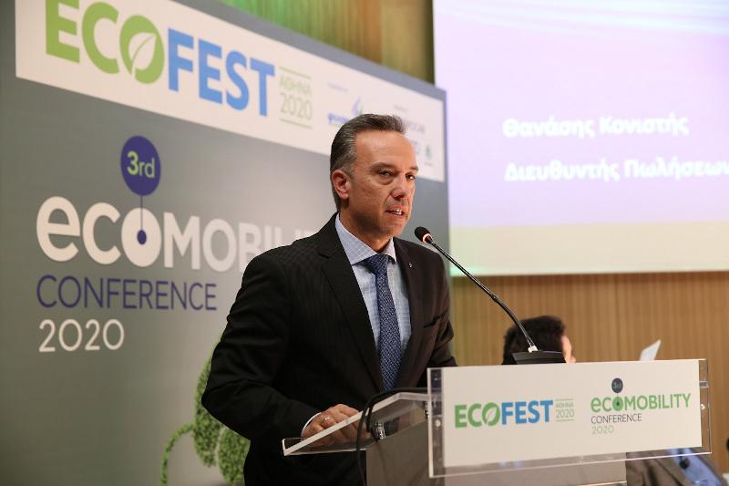 Ο Διευθυντής Πωλήσεων και Marketing της Kosmocar-Volkswagen, κος Θανάσης Κονιστής