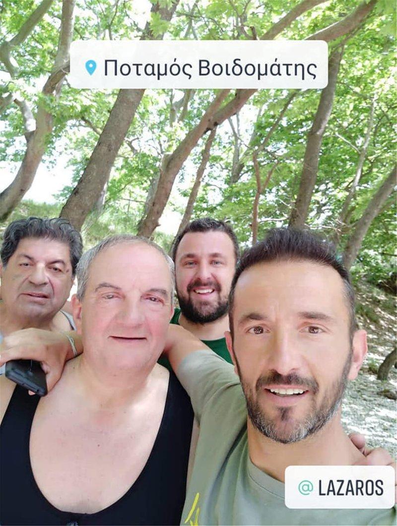 Selfie με τον Κώστα Καραμανλή