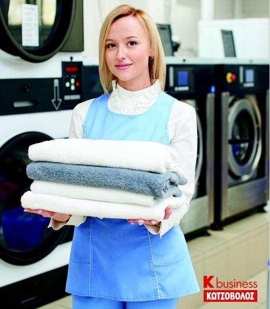 Στο ξενοδοχείο του Μέλλοντος παρέχονται διαδικασίες πλύσης εξαιρετικά υψηλών προδιαγραφών