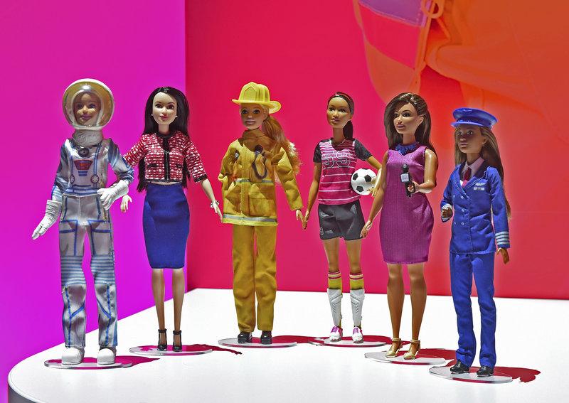Οι διάσημες κούκλες Barbie