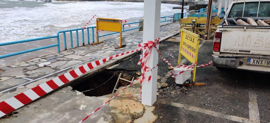 Σοβαρά προβλήματα στην παραλία του Κουμ Καπί