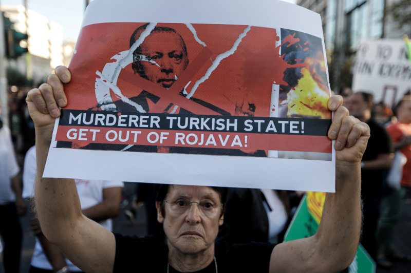 Πορεία διαμαρτυρίας Κούρδων σε Αθήνα και Θεσσαλονίκη, για την ...