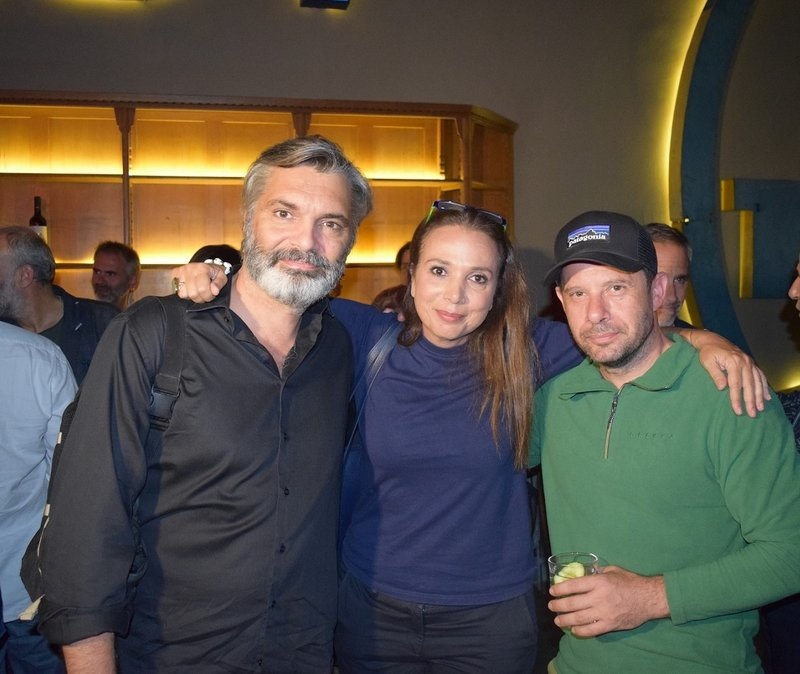 Ο Άλκις Κούρκουλος, η Χριστίνα Αλεξανιάν και ο Γιώργος Πυρπασόπουλος στην αβαν πρεμιέρ του «Λόγω Τιμής»