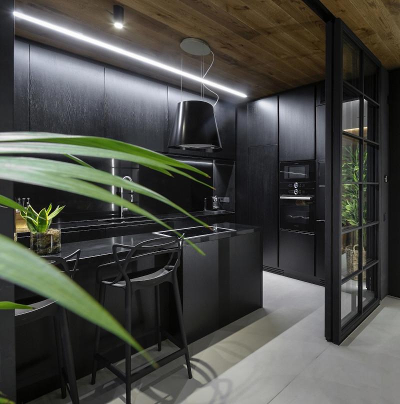 Μαύρη κουζίνα
