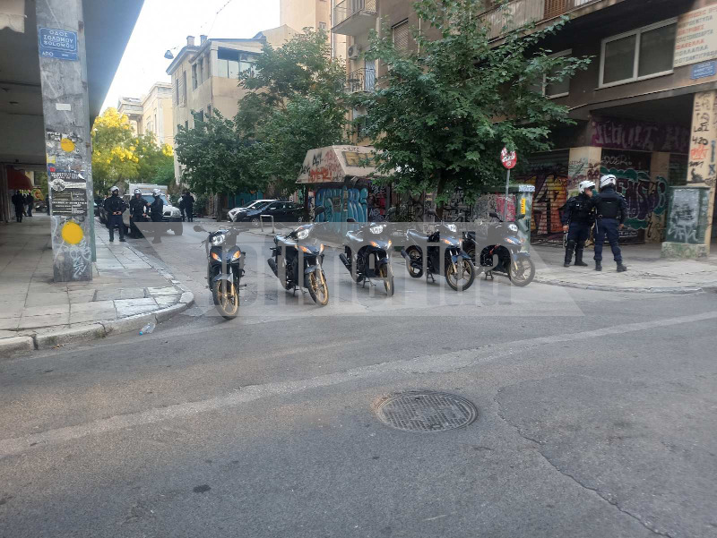 Αστυνομική επιχείρηση σε υπό κατάληψη κτίριο