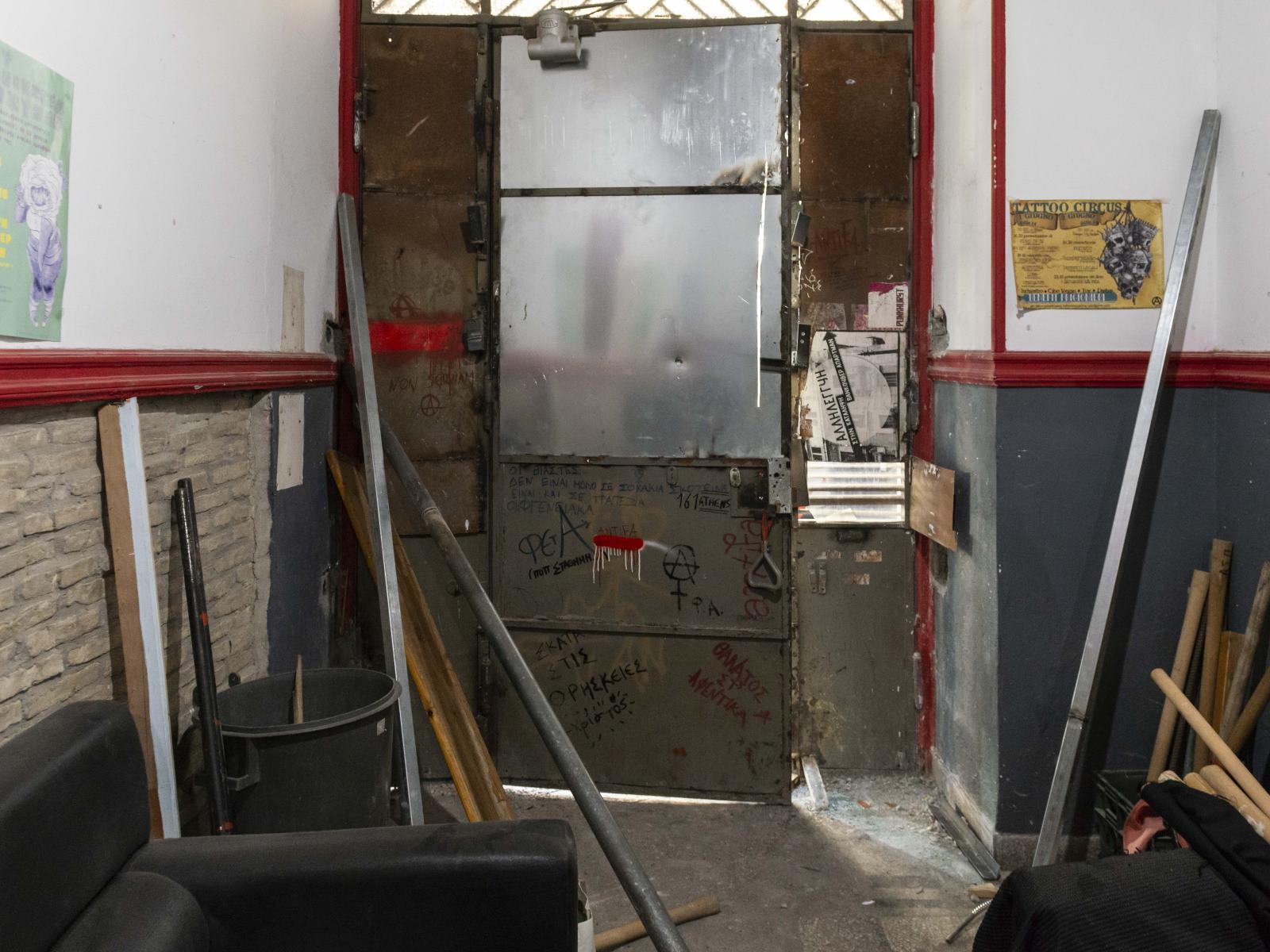 Εικόνα από το εσωτερικό του κτιρίου