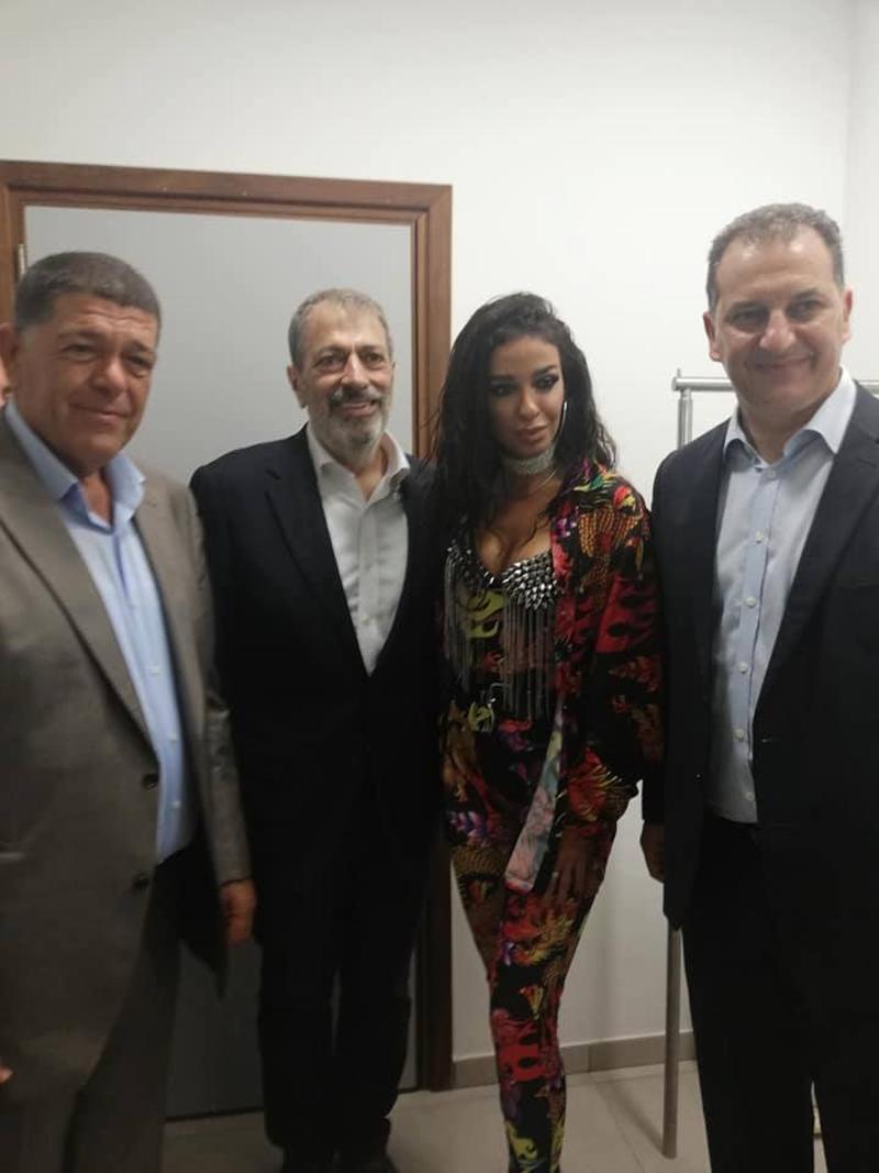 Η Ελένη Φουρέιρα με Κύπριους υπουργούς