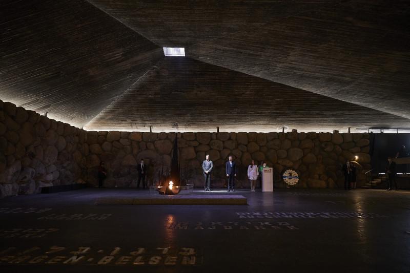 Κυριάκος Μητσοτάκης Μνημείο Ολοκαυτώματος