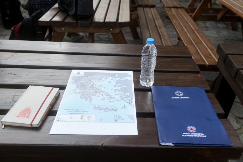 Κυριάκος Μητσοτάκης χάρτης για αντιπυρική περίοδο