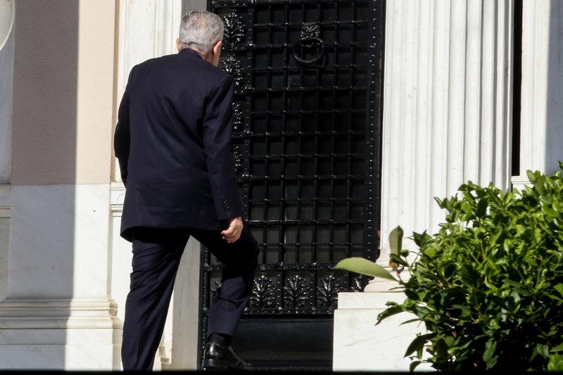 Ο υπουργός Ναυτιλίας Φώτης Κουβέλης στο Μαξίμου για το ΚΥΣΕΑ -