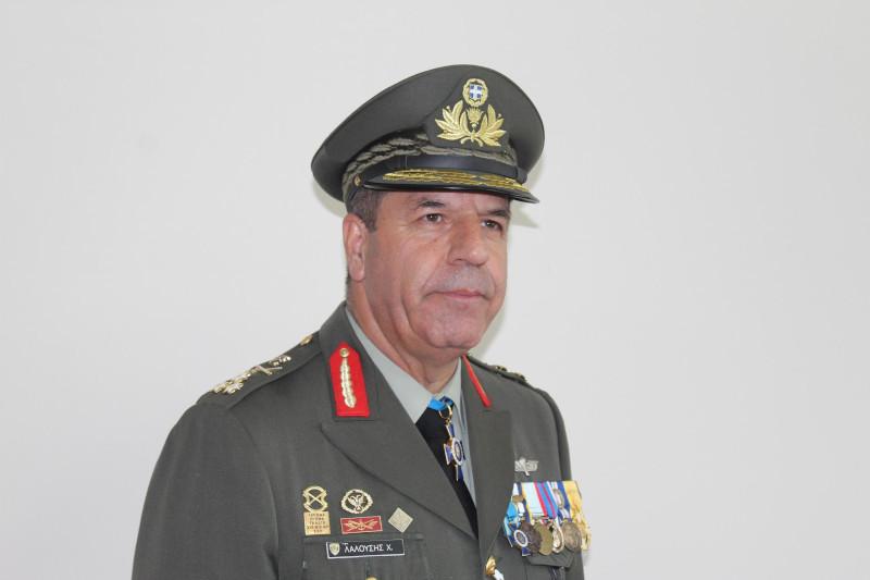 Ο νέος Αρχηγός ΓΕΣ Αντιστράτηγος (ΤΘ) Χαράλαμπος Λαλούσς