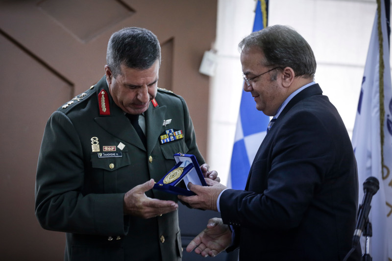 Ο Χαράλαμπος Λαλούσης, νέος αρχηγός ΓΕΣ / Φωτογραφία: Eurokinissi